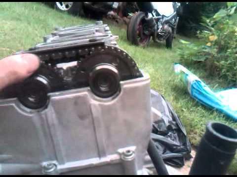 How To Adjust Cam Chain Tensioner  Suzuki Gsxr