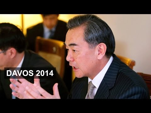 Davos focus on China's foreign power