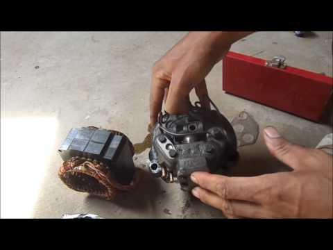 Motor de Geladeira o que aproveita ideias !!! Mirabolantes !!!