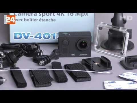 PEARL Somikon 4K-Action-Cam mit UHD-Video NX-4224