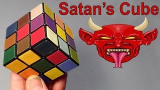 Satan's Rubik's Cube puzzle (pure evil from Olivér's Stickers & Greg)
