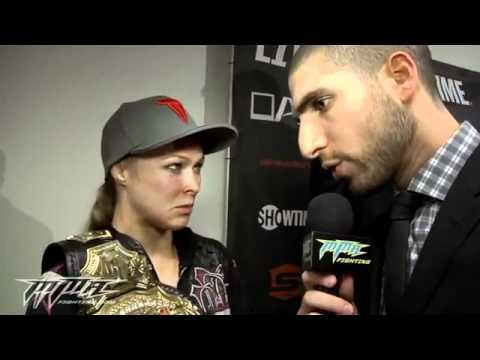 Ronda Rousey Calls Title Win 'Big Deal' MMA - UFC