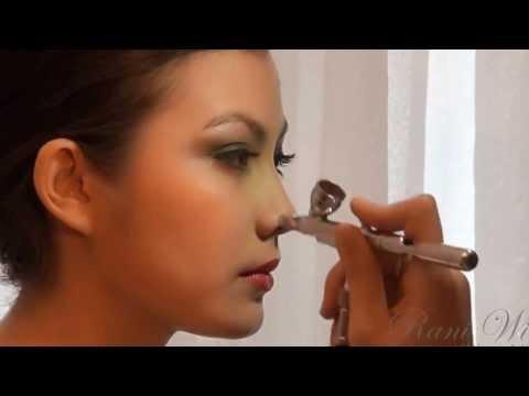 Bridal Wedding Airbrush Makeup by Rani Wi (Professional Indonesia Makeup Artist, Medan, Jakarta).