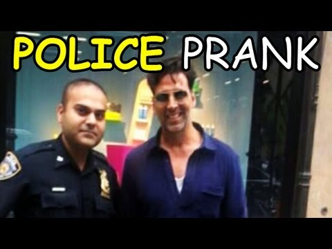 Akshay Kumar caught by New York Police Department