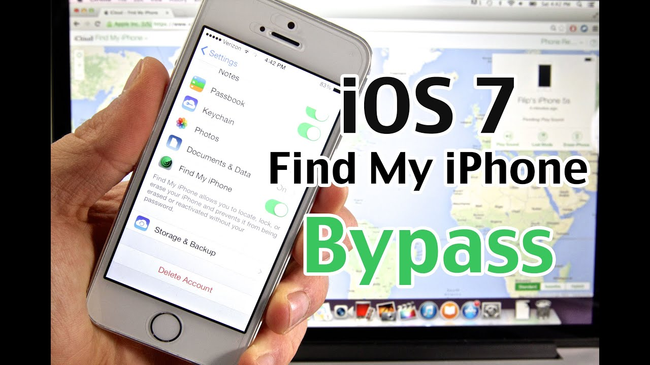 how to hack find my iphone