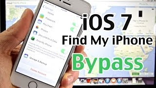How To Bypass Find My IPhone IOS 7 MAJOR New ICloud