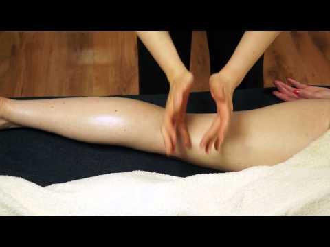 Real Time Back of Leg Massage