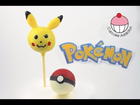Make Pokemon Pikachu Cake Pops A Cupcake Addiction How To