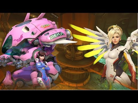 Grandes Cambios se avecinan a Overwatch -- Gameplay Mercy -- NSUNShadow
