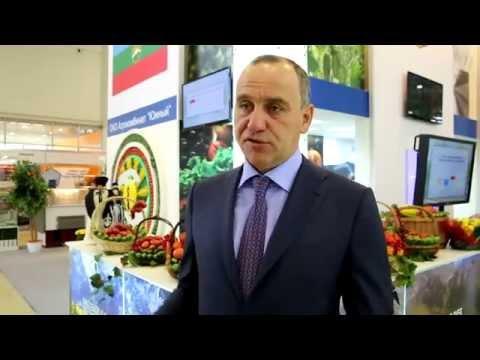 Глава КЧР Р.Б. Темрезов об агропромышленной выставке «Золотая осень-2014»