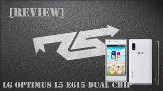 [Review] Smartphone LG Optimus L5 E615 Dual Chip