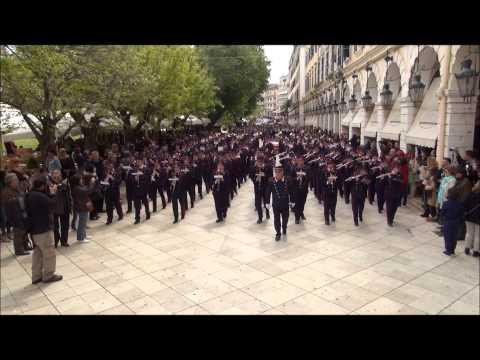 ΚΕΡΚΥΡΑ - ΠΑΣΧΑ (Pasqua Corfu) 2014 : ΕΠΙΤΑΦΙΟΣ Ι.Ν. ΠΑΝΤΟΚΡΑΤΟΡΟΣ ΚΑΜΠΙΕΛΟΥ