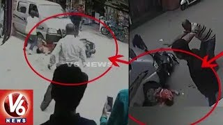 Exclusive : Drunken Car Driver Hit Two Wheeler And Drags Woman Upto 100 Meters