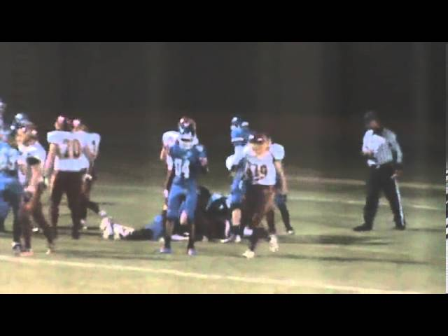 10-25-13 - Mikey Gutierrez's 2 yard TD extends the lead (Brush 26, Fort Lupton 0)