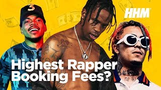 Top 20 Rappers With the Most Expensive Booking Fees (2017)