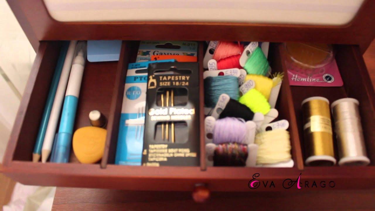 Как сделать коробку для швейных принадлежностей