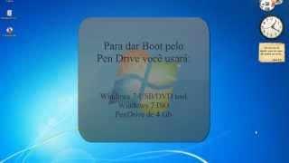 """Como Fazer Boot Pelo Pendrive """"windows 7 E 8"""""""