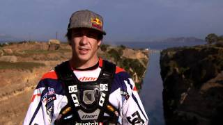 Robbie Maddison Jumps 278 Feet Over Corinth Canal In