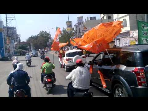 Narendra modi victory celebration at Varanasi