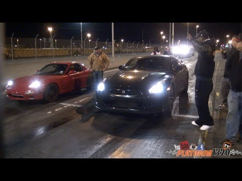 GT-R VS LS1 TURBO FD RX7