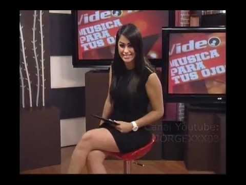MARLENE CONTRERAS MINIVESTIDO NEGRO SEXY - YouTube
