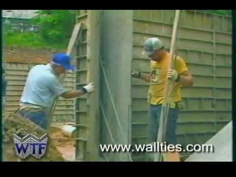 Formy do wylewki betonowych ścian