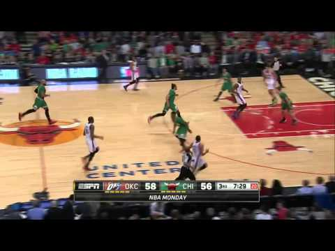 Oklahoma City Thunder vs Chicago Bulls | March 17, 2014 | NBA 2013-14 Season