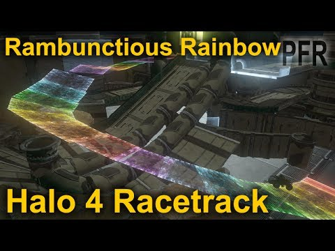 Halo 4 Racetrack- Rambunctious Rainbow By: Bean05 and Possante