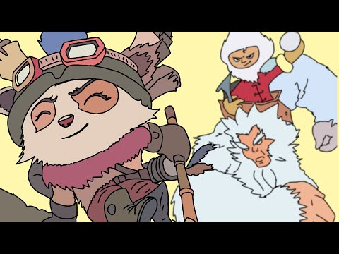 There's No Team In Teemo - League of Legends Champion Rocks 2012
