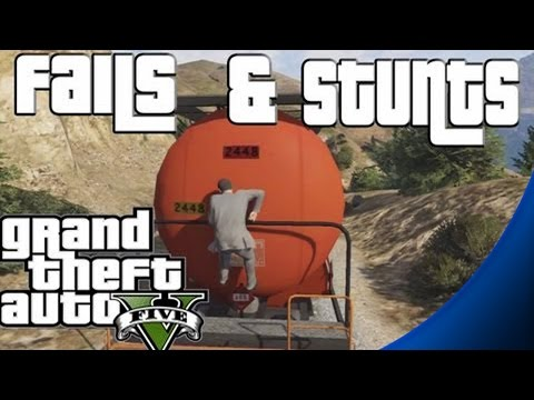 Hình ảnh trong video GTA 5 - Stunts and Fails Compilation / Montage