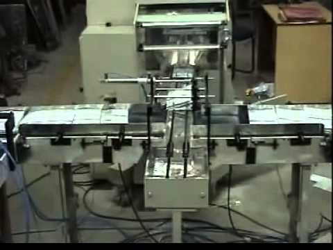 2 Numbers Of Multitrack MACHINES with Automatic Flow Wrap Machine
