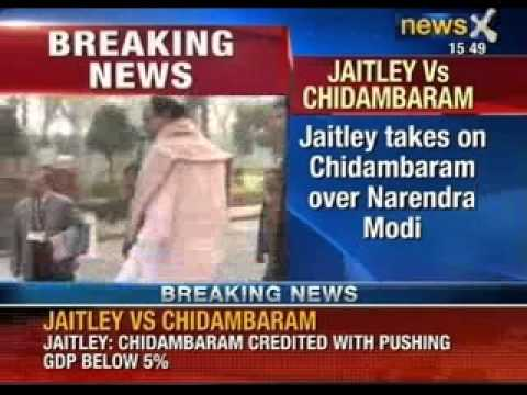 NewsX: Finance Minister P Chidambaram's tenure ridiculous, says Arun Jaitley