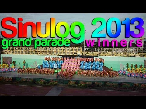 Sinulog 2013 Grand Parade 1st Placer - Tribu Lingganay of Alang-alang Leyte (FI)