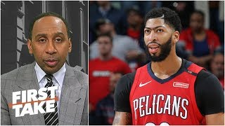 Anthony Davis is key to LeBron's NBA title hopes with Lakers - Stephen A.   First Take