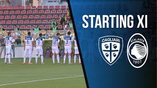 30ª Serie A TIM Cagliari-Atalanta | La videoformazione nerazzurra