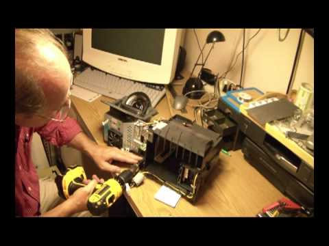 Mitsubishi Tv Dlp Chip Replacement Mpg Youtube