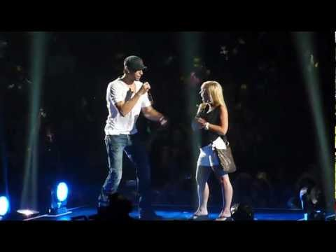 Enrique Iglesias - Hero - Live concert Minneapolis 2012