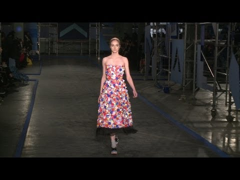 FIRST LOOK: Roksanda Ilincic Fall 2014 London Fashion Week | Videofashion