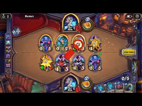 LOl!!! Mage Ranked Climbing - Hearthstone Android Gameplay #108