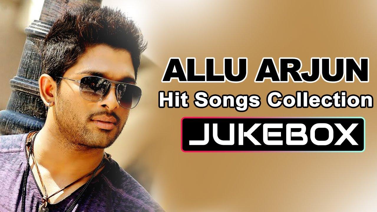 Allu Arjun Romantic Hit Songs    Jukebox - YouTube
