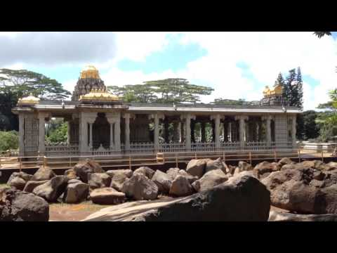 KAUAI'S HINDU MONASTERY AND TEMPLE - PART 1 (June 3, 2014)