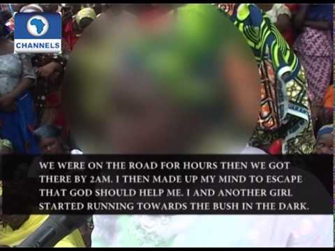 Chibok Girls Kidnap: Escaped Victims Share Experience