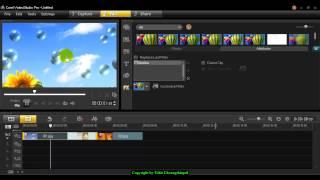 การเพิ่มเทคนิคพิเศษให้กับวิดีโอด้วย Filter