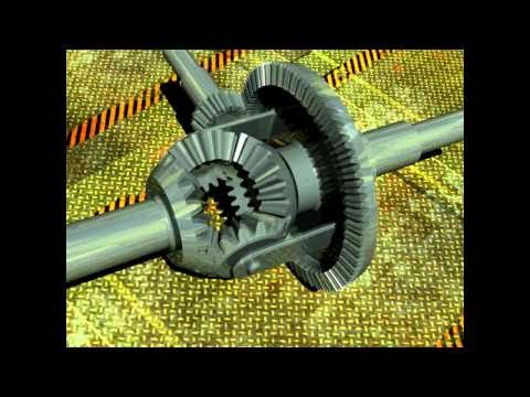 CATIA differential gear train