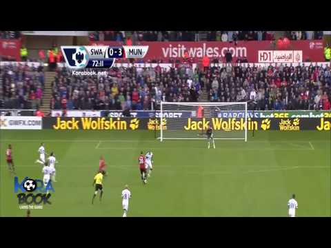 Manchester United vs Swansea City 4-1 EPL : ALL GOALS (HD) **Best Comentary**