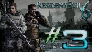 Resident Evil 6 Detonado (Walkthrough) Chris Parte 3 HD