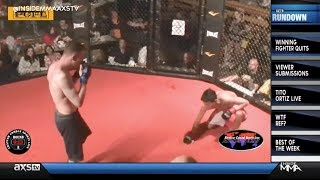 [Have You Ever Seen A Fighter Throw In The Towel Because He's Winning?] Video