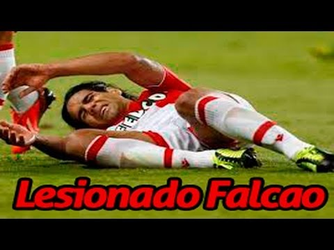 ✔ radamel falcao sufre una terrible lesión no podrá ir a brasil 2014