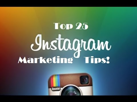25 Instagram Marketing Tips