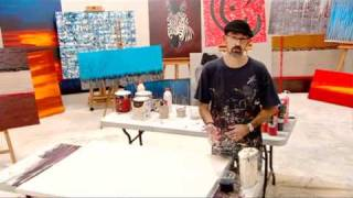 ABSTRACT PAINTING TECHNIQUES Learn How To Paint Art